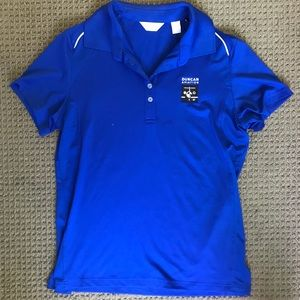 Blue Duncan Aviation polo